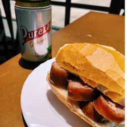 Pão com Linguiça Blumenau + Pureza 350ml