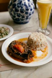 2ª Feira (arroz sírio com beringela)