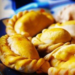 Empanadas argentinas de bacalhau