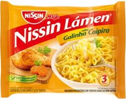 Miojo Galinha Caipira Nissin - 85g