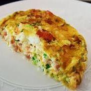 Omelete de Calabresa