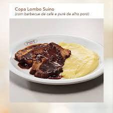 Copa Lombo Suíno com Barbecue de Café