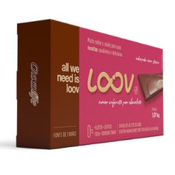 Barra de Chocolate Loov 51% - 1,01Kg