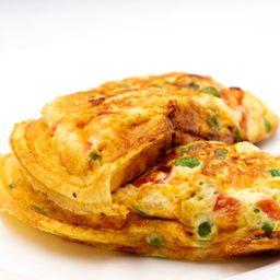 Omelete de Frango e Muçarela