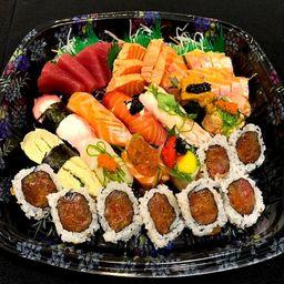 Combinado Gourmet e Grátis 1 Shimeji e 1 Long Neck - 29 Peças