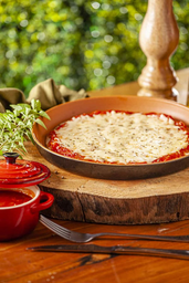 Pizza Individual de Mussarela - 22cm