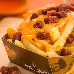 Batata Frita com Cheddar e Bacon (220g)