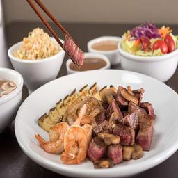 Shrimp + Steak + Much More