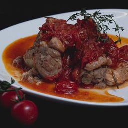 Costelinha de Porco ao Molho de Tomate
