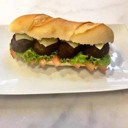 Sanduíche Almôndegas no Pão