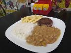 Prato arroz feijão