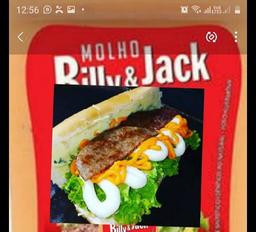 Hambúrguer com Molho Billy & Jack