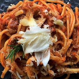 Linguini à bolonhesa
