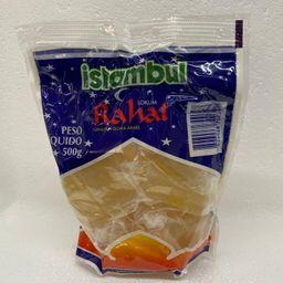 Rahat goma árabe branca