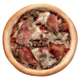 Esfiha Carne com Bacon e Mussarela