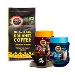 Kit café e cappuccino