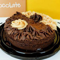 Torta Brownie Trio
