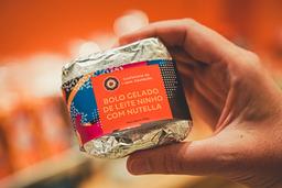 Bolo Gelado de Leite Ninho Com Nutella - 100g