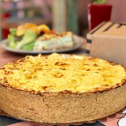 Torta de Frango Cozido Bem Temperadinho