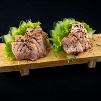 Sashimi Salmão Maçaricado - 8 Peças