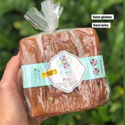 Pão Biomassa de Banana e Cúrcuma