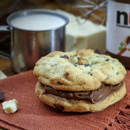 Sandwich cookie praliné Nutella 205g