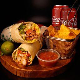 2 Burritos 2 Nachos