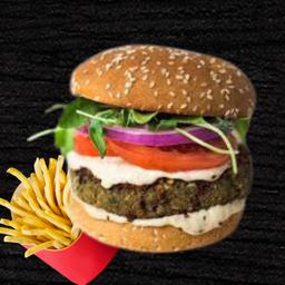 Hambúrguer Vegano de Falafel