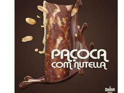 Paçoca com Nutella