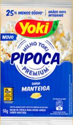 Pipoca de Microondas Manteiga - Individual - Yoki