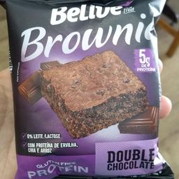 Brownie Proteico Duplo Chocolate - Belive