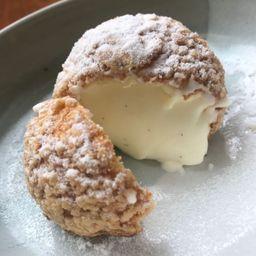 Melon Choux Cream メロンシュークリーム