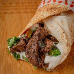 Sanduíche Shawarma Bovino - 22cm