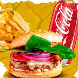 Combo Burger, French Fries e Refri