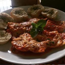 Ravioli Vegetariano Recheado - Abóbora