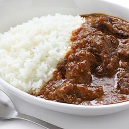 Tonkotsu curry rice / 豚骨スープ入りカレーライス