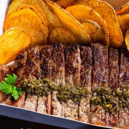 Porção de Steak n' Fries
