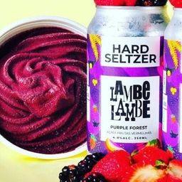 Hard Seltzer Purple Forest Lambe Lambe 350ml