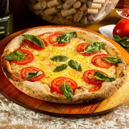 Pizza Vegana Meio a Meio - Grande