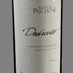 Vinho m. paschoal dedicato cabernet - 750ml