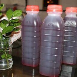 Suco de Hibisco com Cha Verde