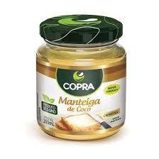 Manteiga de coco copra