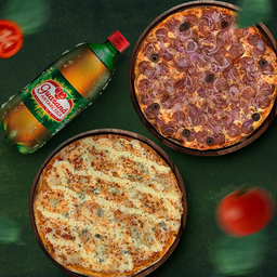 Combo 2 Pizzas G com Refrigerante 1l