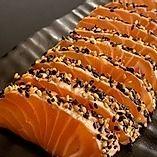 Sashimi de Salmão Maçaricado - 16 Unidades