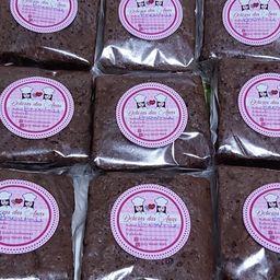 Brownie Mania com Recheio Nutella 6x6cm