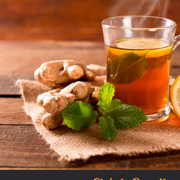 Chá de gengibre (Acelera o metabolismo) 300 ml