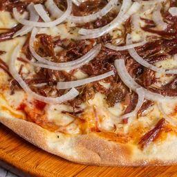 Pizza de Carne Seca - Família