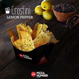 Crostini de Lemon Pepper