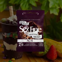 Sex Free Açaí (Pack com 03)