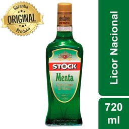 Licor menta stock 720 ml